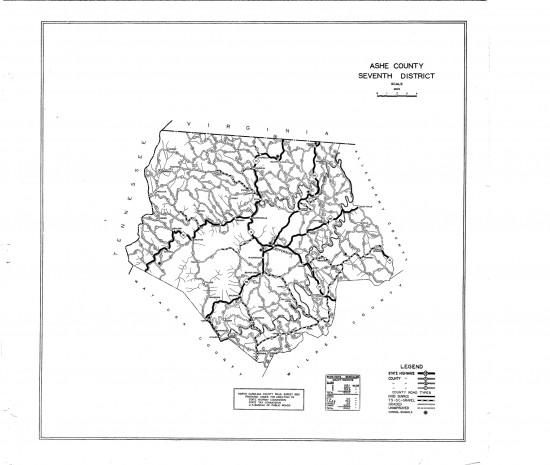1930 maps Ashe