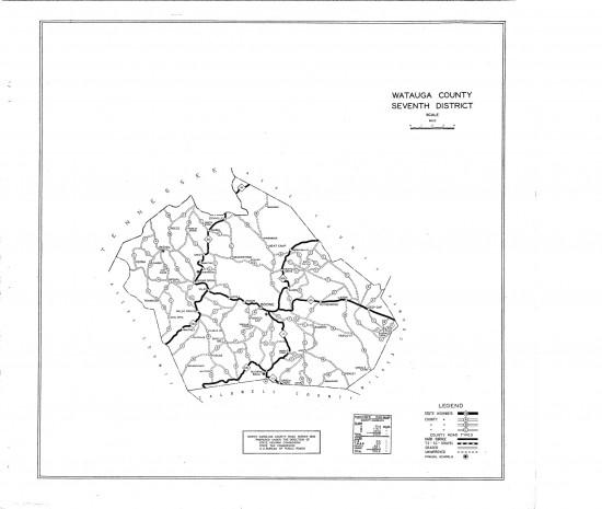 1930 maps Watauga