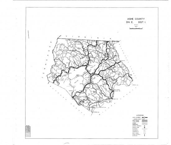 1936 maps Ashe