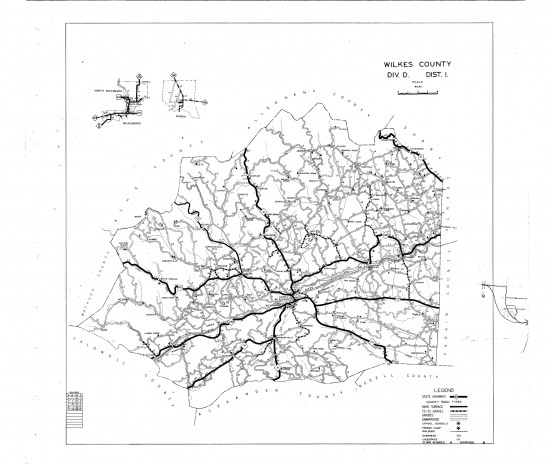 1936 maps Wilkes