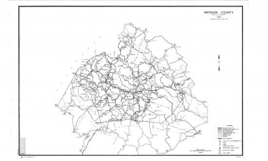 1944 maps Watauga