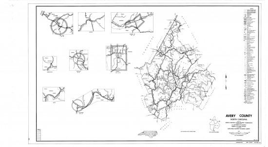 1962 maps Avery