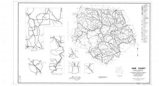 1968 maps Ashe