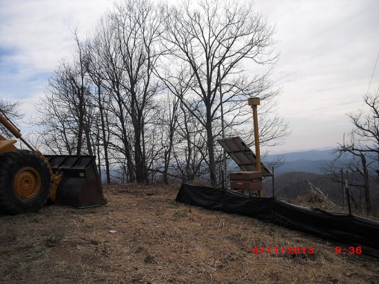 All grading, excavation and survey equipment used by Vecellio & Grogan on the U.S. 321 widening project is outfitted with on-board receivers and transmitters to enable digital communication, dramatically increasing efficiency and accuracy. Photo:NCDOT