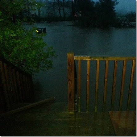 May6_at Kellwood by airport. Water up to porch_Jennifer Spink