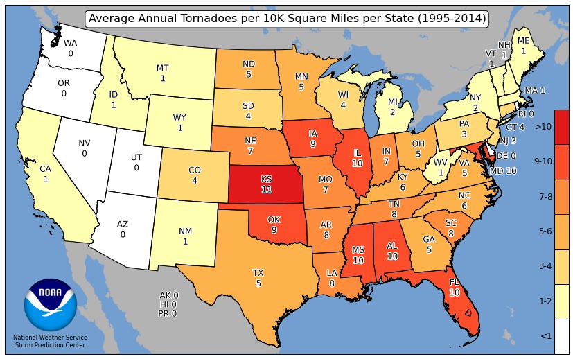 tornado deaths per year - 827×518