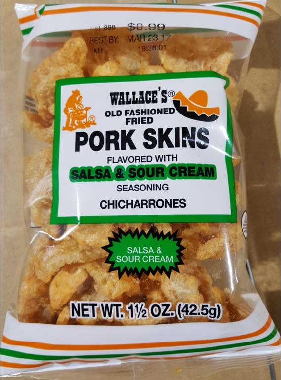 Pork Skins Recall, Shipped To Locations In North Carolina
