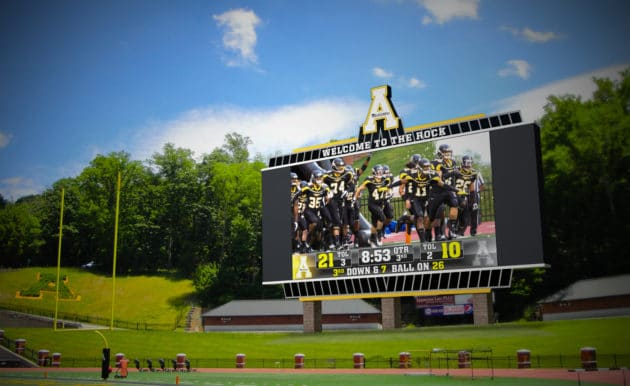 App State Adding New Video Boards At Kidd Brewer Stadium & Holmes Center for '17-18