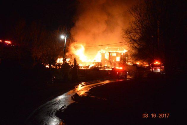 Thursday Night Fire In Sampson Community