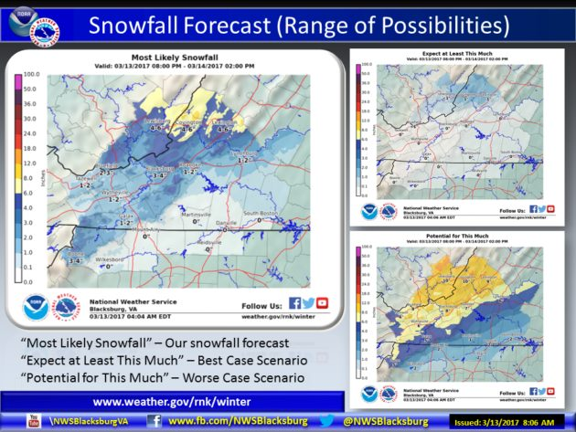 Winter Storm Likely to Start Work Week, Much Colder Than Last Two Weeks