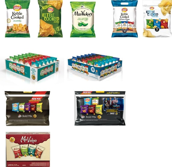 Frito-Lay Recalls Select Chip Varieties Due To Potential Presence of Salmonella