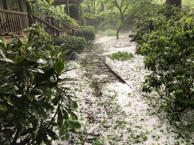 Thursday & Friday Storms Produce Significant Hail, Video & Photos Included