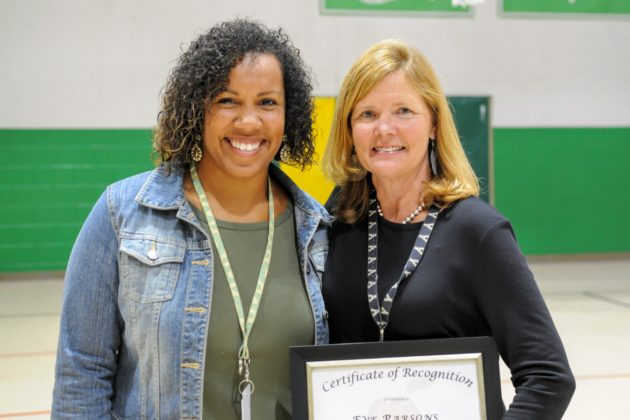 Blowing Rock School's Eve Parsons Named Watauga County Teacher of the Year