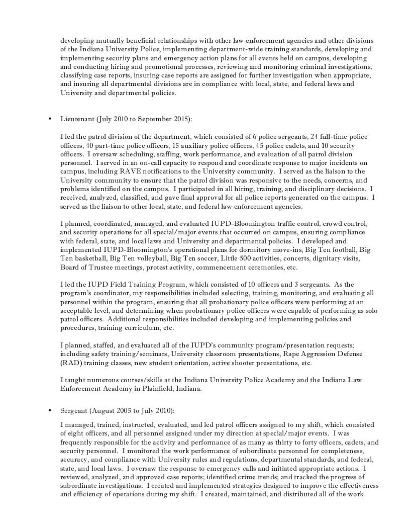 graduate school resume objective statement verbs