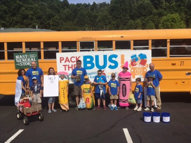 Pack-the-Bus Kickoff Set for Blowing Rock, Boone Parades