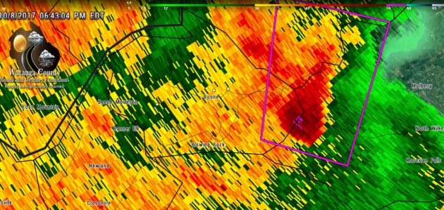 High Country Tornado Data