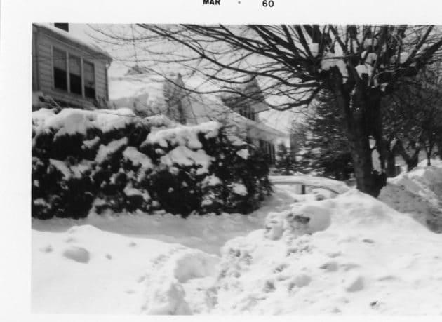 March 1960 Boone Snowfall Photos