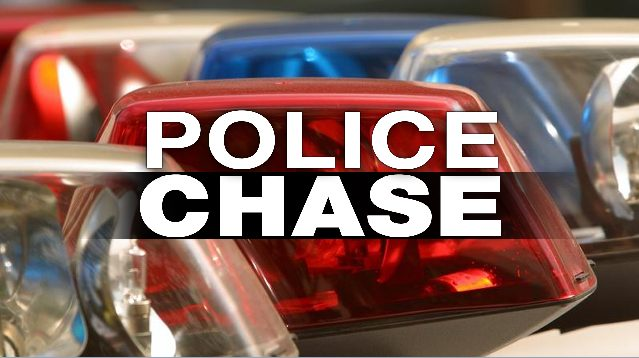 Slow speed police chase ends in felony charges