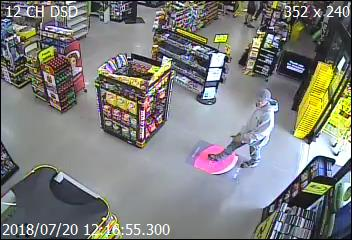 Crime Stoppers Seeks Help With Theft From Dollar General In Foscoe