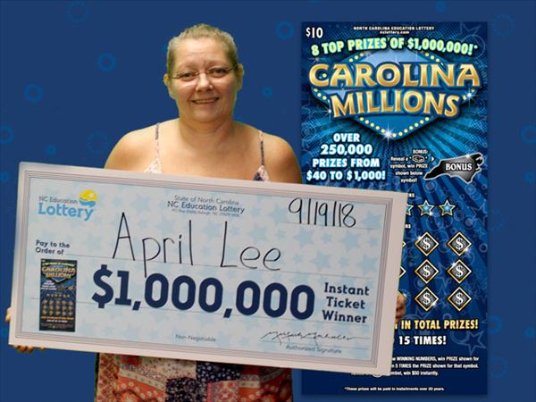 Wilkes County Woman Wins  Million, 'I started screaming and hollering'