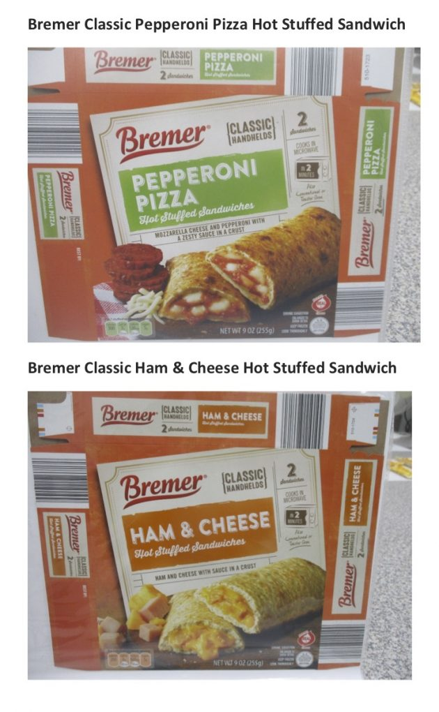 North Carolina Company Recalls Stuffed Sandwich Products due to Possible Foreign Matter Contamination