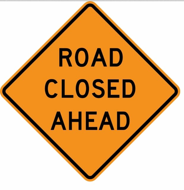 Shadowline Drive to be Closed Monday - Wednesday, November 4 -6