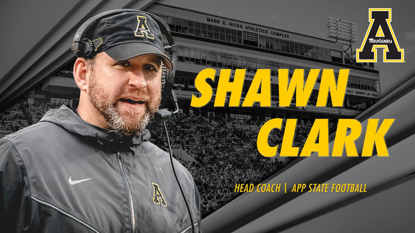 Shawn Clark Named App State's Head Football Coach