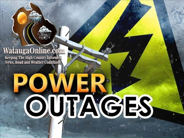 Monday Night power outage leaves portions of Boone in the dark