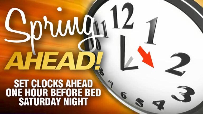 """Spring Forward"" On Saturday Night as Daylight Saving Time 2020 Begins"