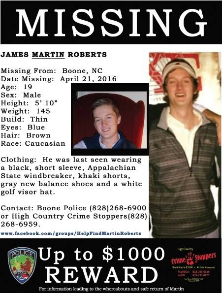 5 years since disappearance of James Martin Roberts, information still sought