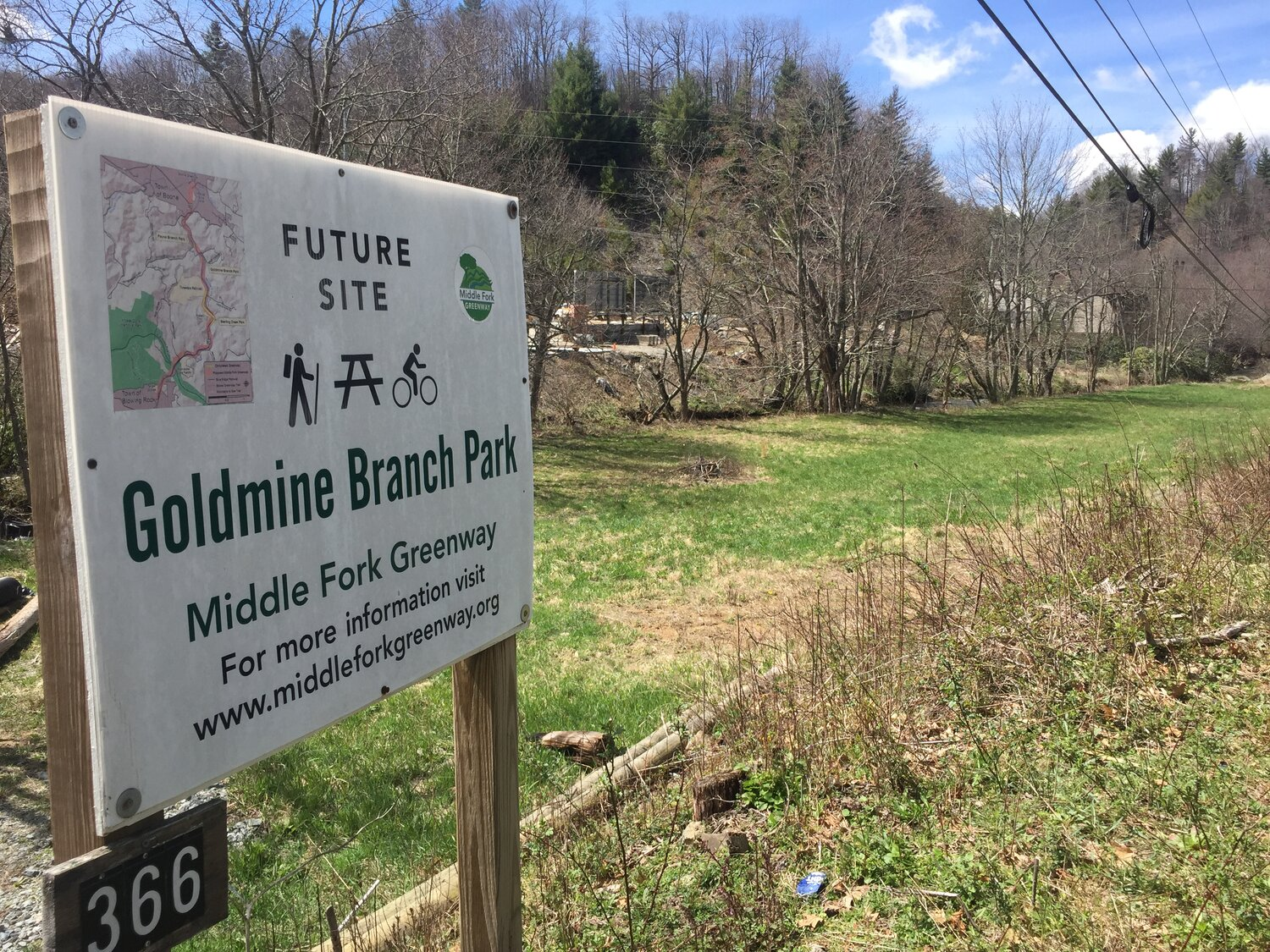 Blue Ridge Conservancy receives grant from Bank of America to support the construction of the Middle Fork Greenway
