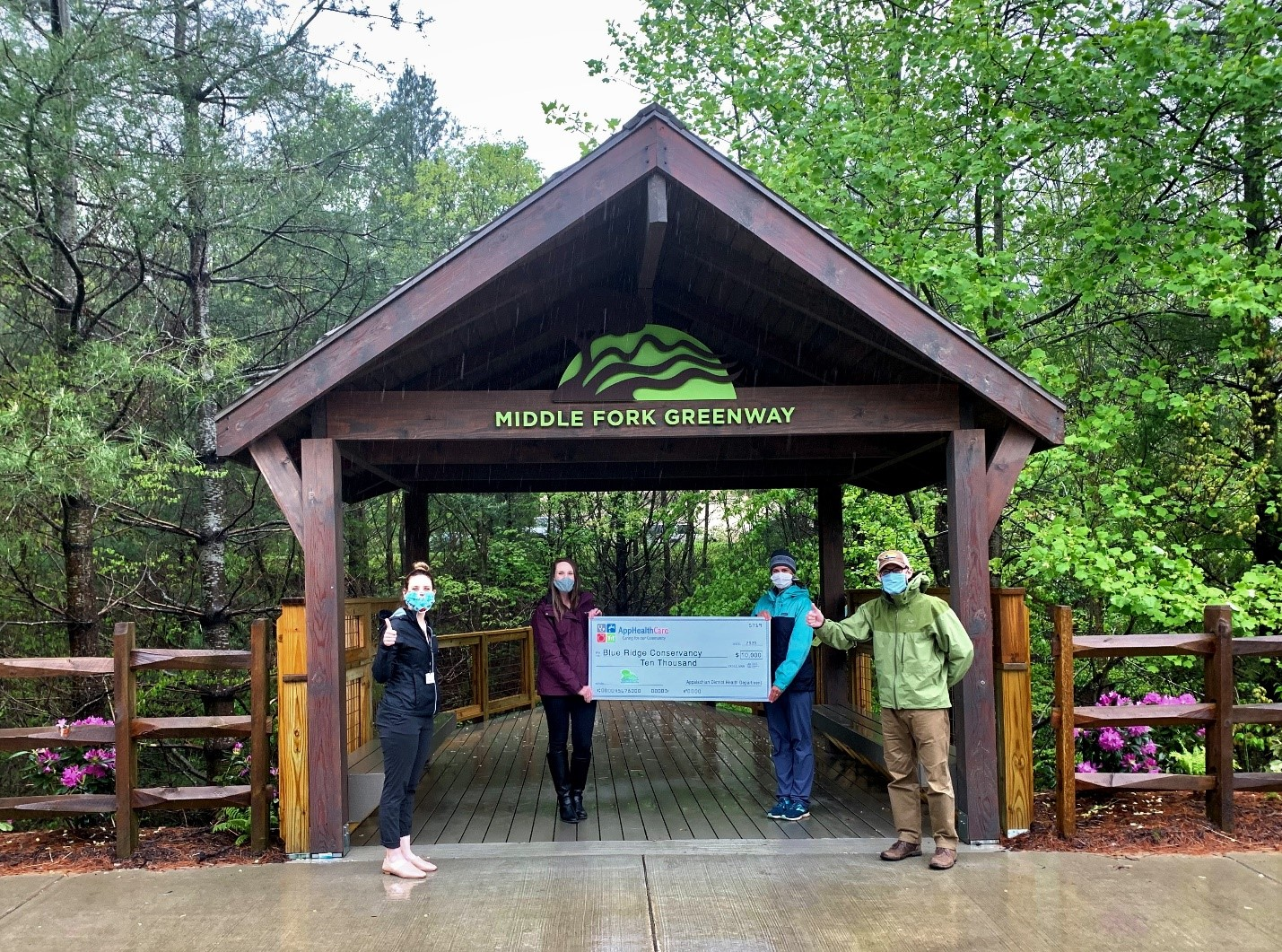 Blue Ridge Conservancy Awarded $10,000 for Middle Fork Greenway Project