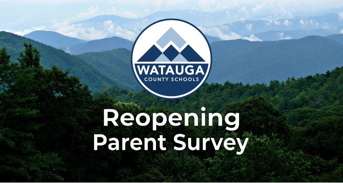 Watauga County Schools Reopening Parent Survey
