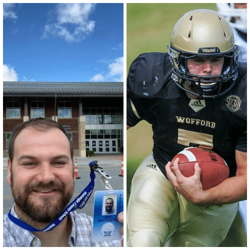 Eric Breitenstein Named to Southern Conference Hall of Fame, Returns to WHS as Teacher/Coach