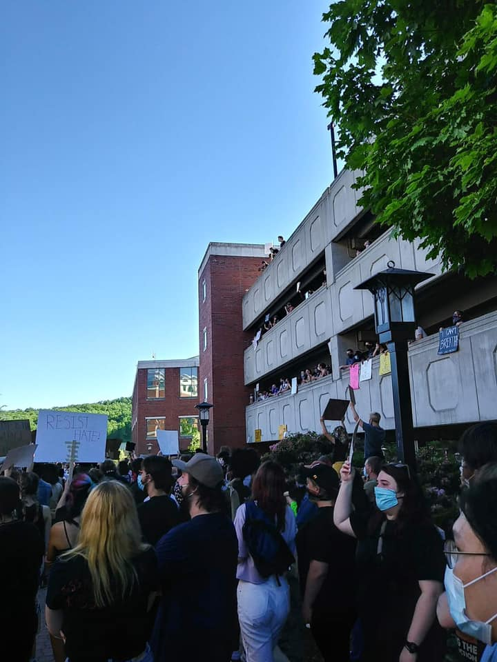 Black Lives Matter march held in Boone on Sunday