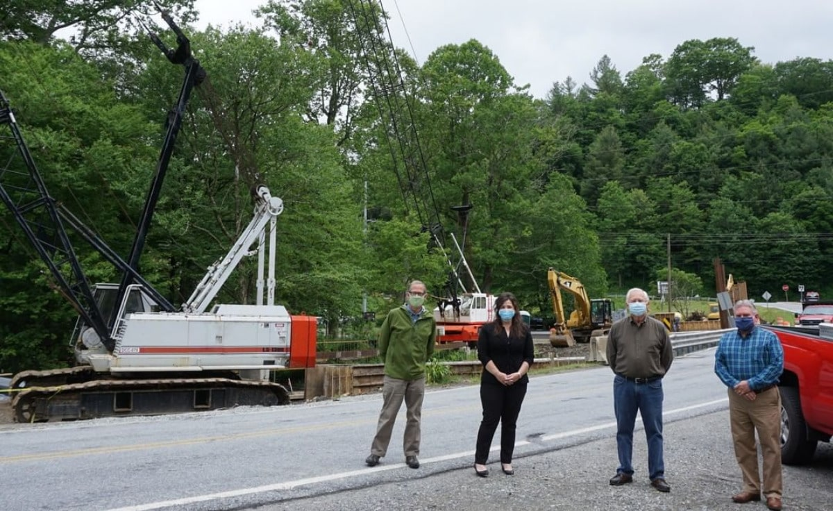 Building bridges and connecting communities on Aho Road