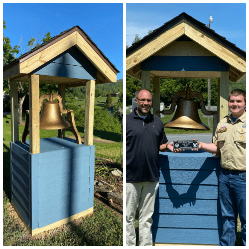 Eagle Scout Project restores Bethel School Bell