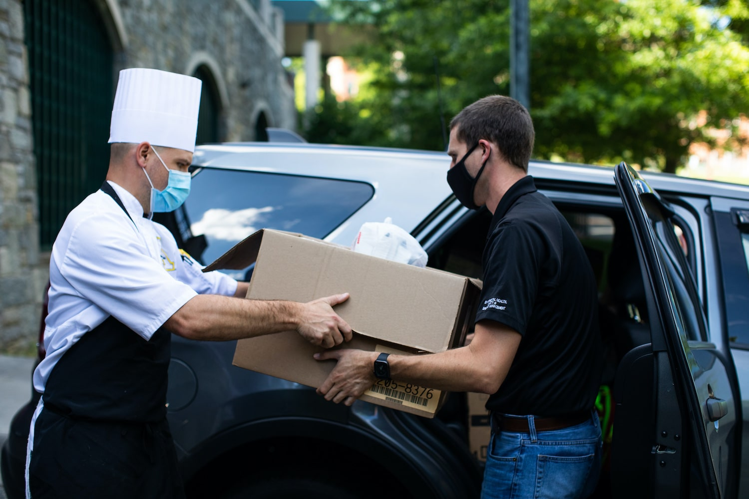 App State provides meals and masks to community partners amid COVID-19 pandemic