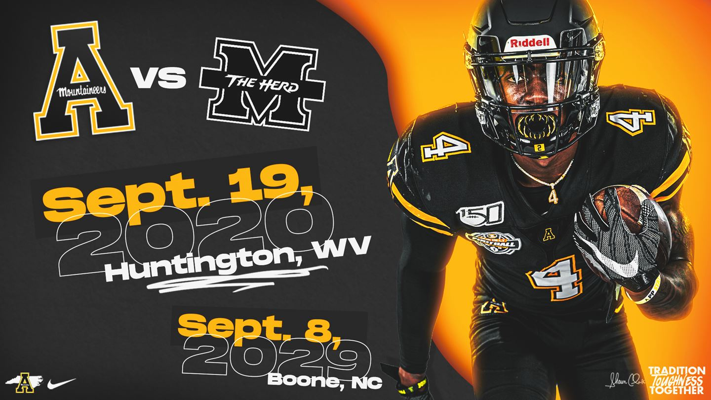 Football: App State Adds Sept. 19 Game at Marshall, Future Matchup in 2029