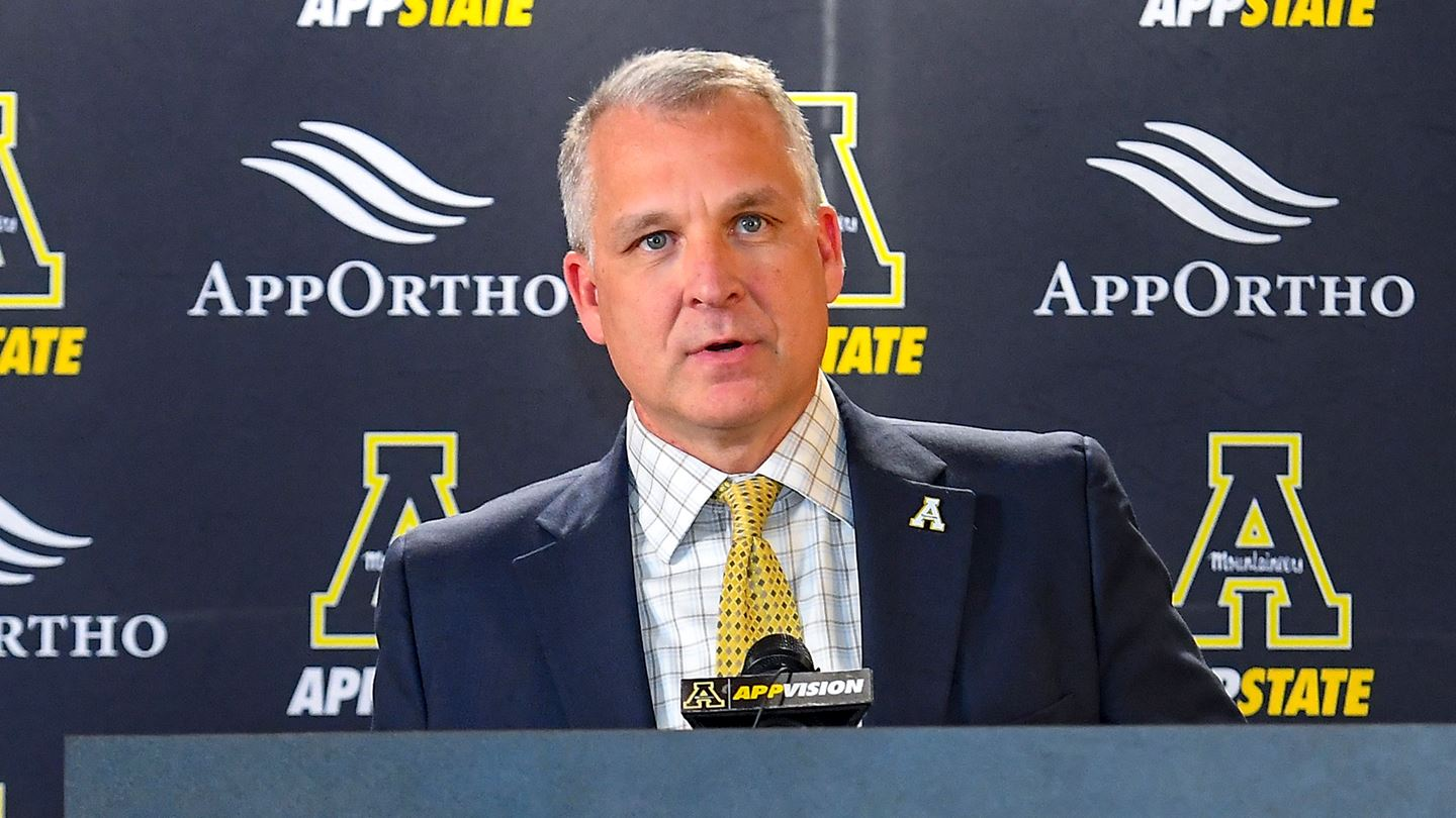 Appalachian State Director of Athletics Doug Gillin  provides update