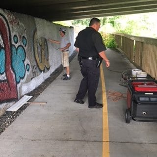 Boone Police Department and Watauga Sheriff's Office Combine Efforts to Keep the Greenway Safe and Secure