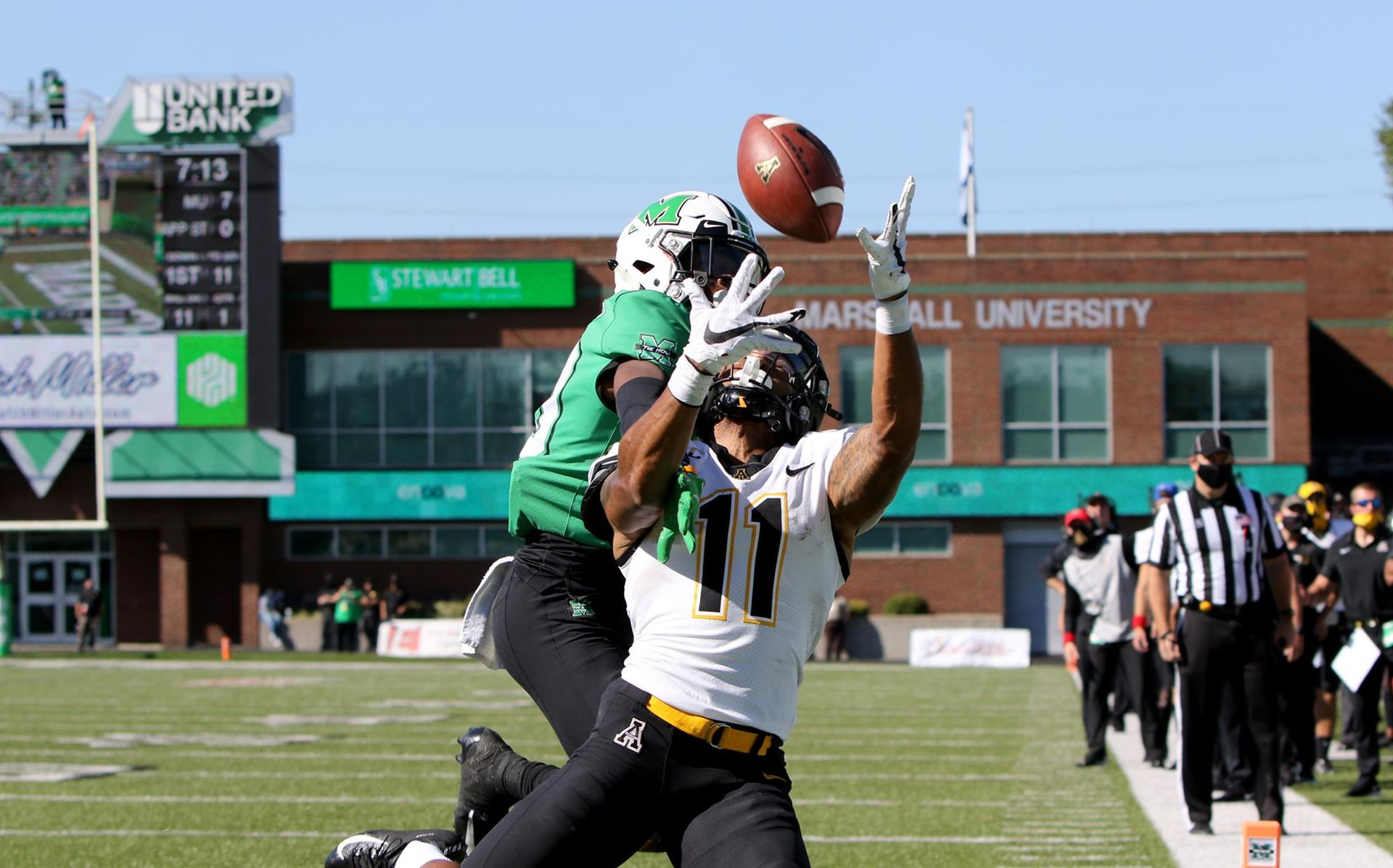 App State Handed Loss on Road at Marshall