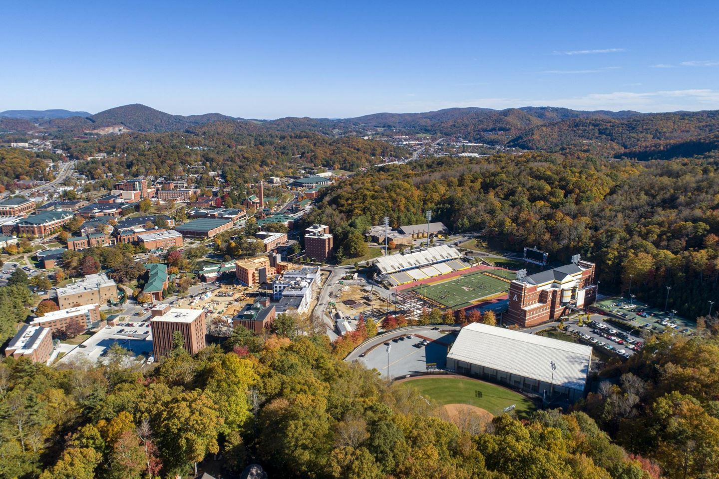 Update on App State football parking and tailgating for September