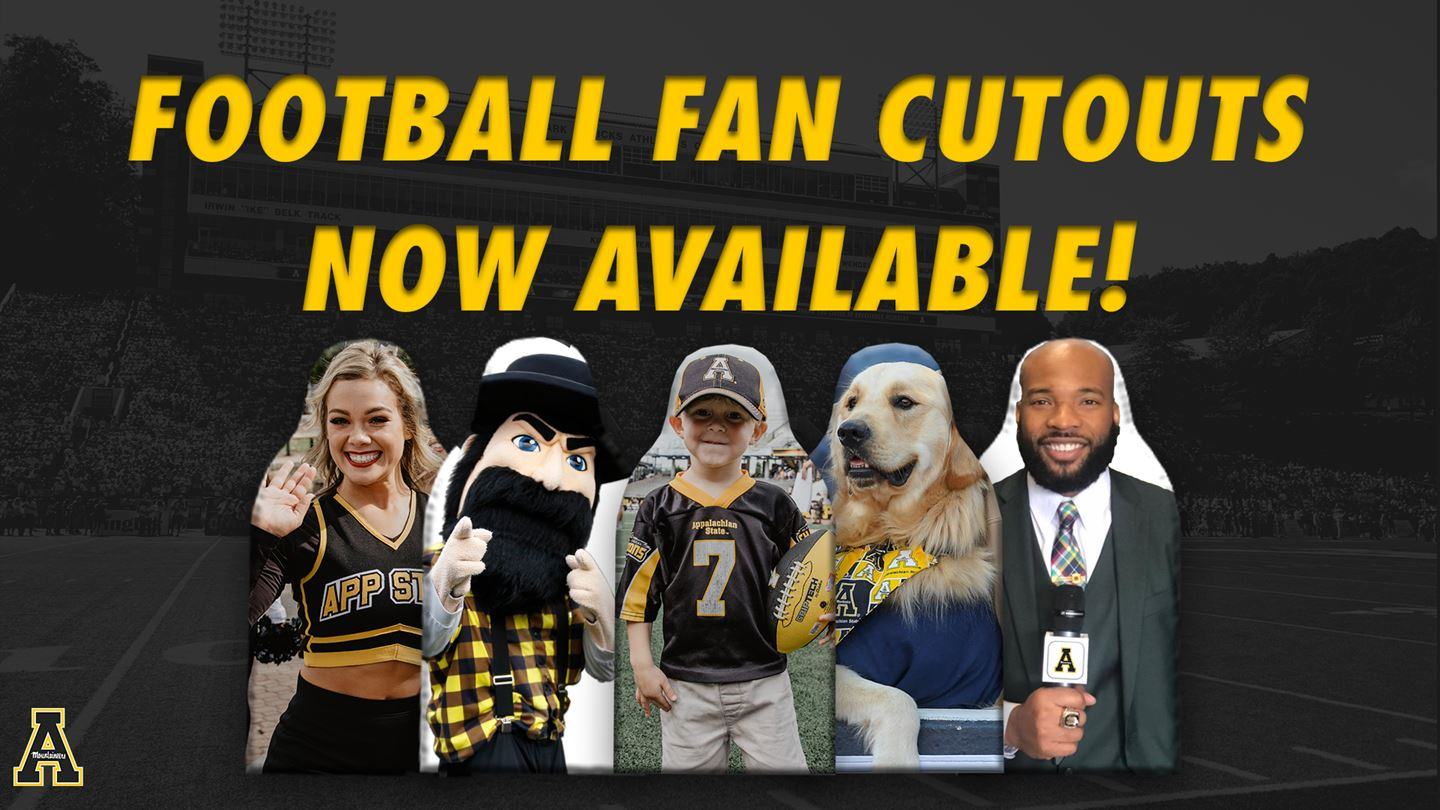 App State to Offer Football Fan Cutouts for Home Games