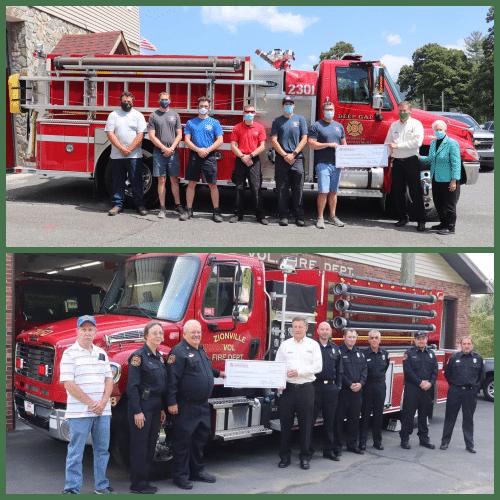 Seven Watauga Fire Departments receive state grants