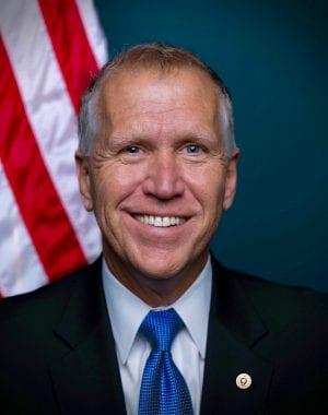 North Carolina Senator Thom Tillis test postive for COVID-19