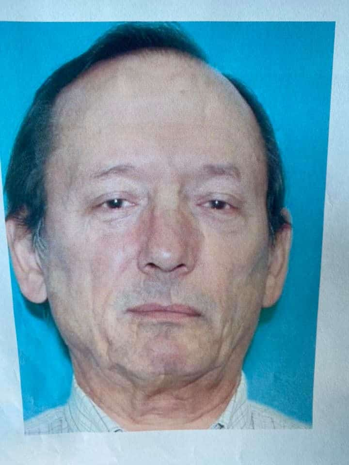 Emergency officials searching for missing man Bob Brock