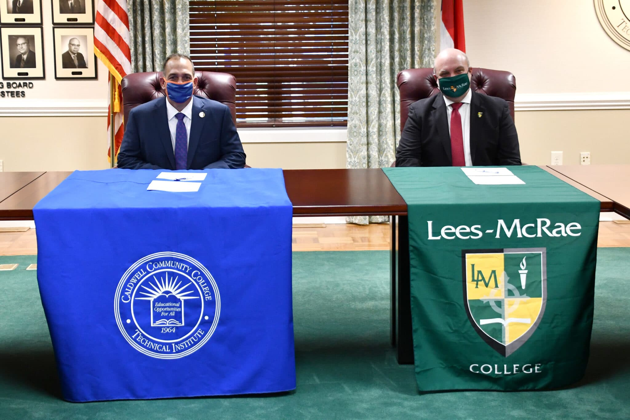 CCC&TI, Lees-McRae College Announce New Co-Admission Agreement