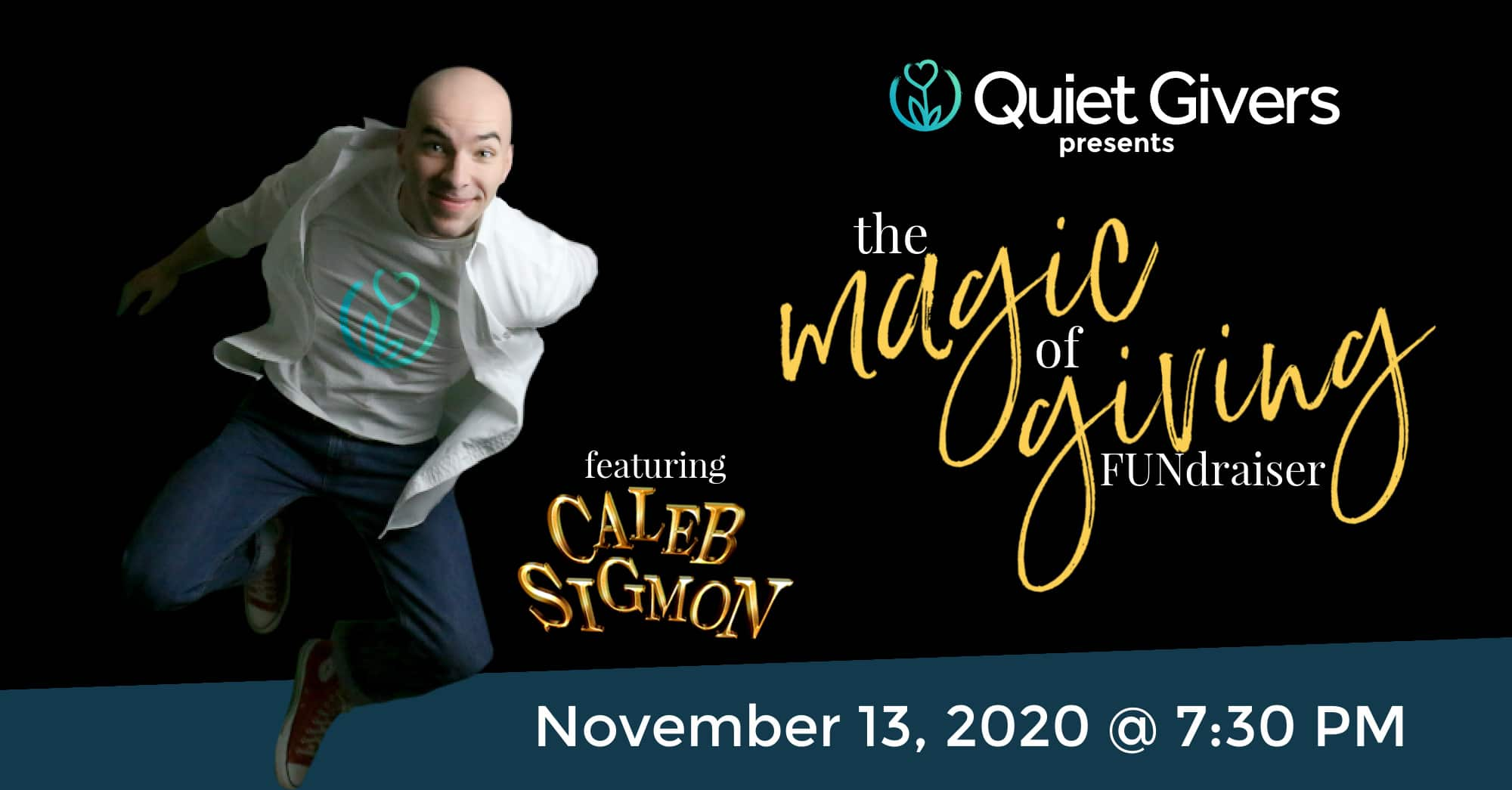"""Quiet Givers to Hold """"The Magic of Giving"""" Fundraiser on November 13"""