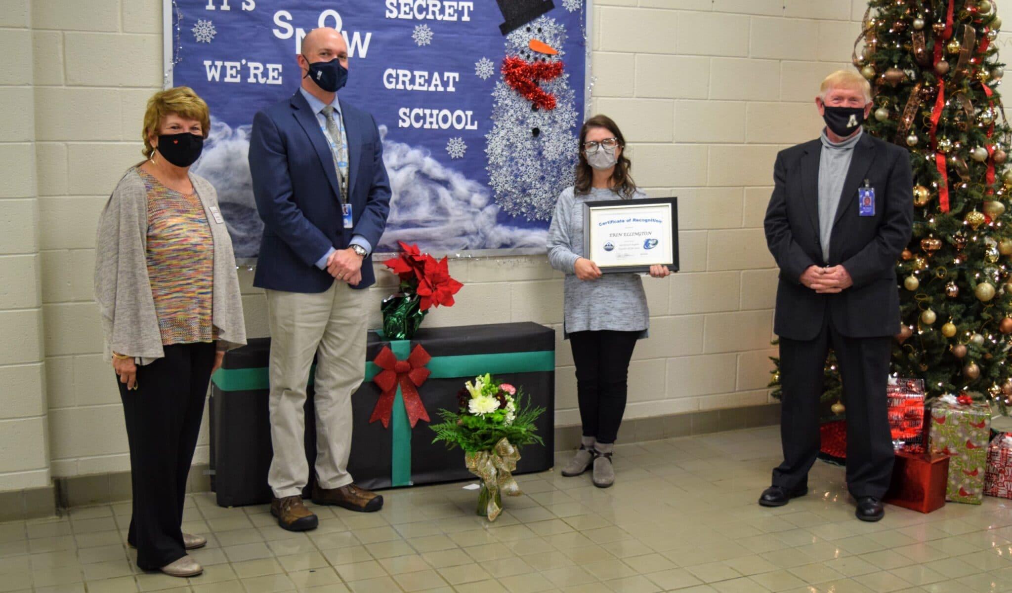 Erin Ellington named Northwest North Carolina regional Teacher of the Year